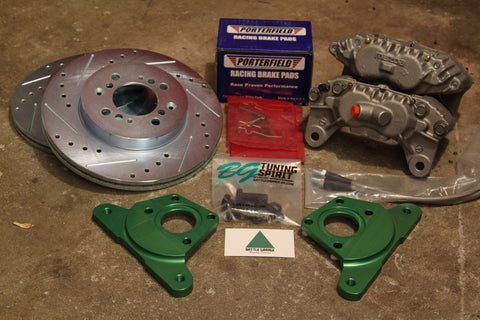 BGRS FC3S 4-Pot Big Brake Conversion Kit for AE86