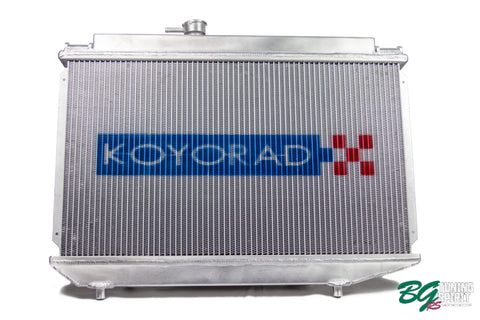 Koyo Racing Radiator for BEAMS swapped AE86