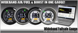 "AEM ""Failsafe"" Wideband Guage - Programmable to Protect Engine"