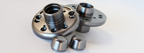 Front Billet Racing Hubs for Converting to AE86 Strut Casings