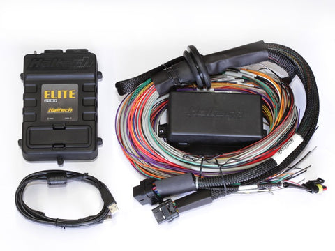 Haltech Elite 2500 (DBW) - 2.5m (8 ft) Premium Universal Wire-In Harness Kit