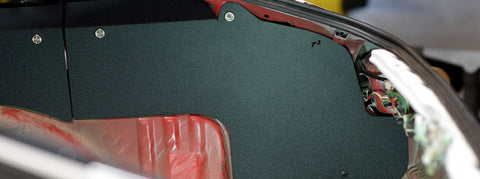 AE86 Hatchback Trunk Side Panels