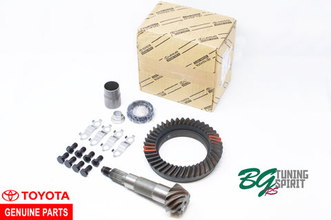 AE86 Ring and Pinions  | 4.1, 4.3, 4.55, and 4.77 Toyota OEM + Aftermarket |