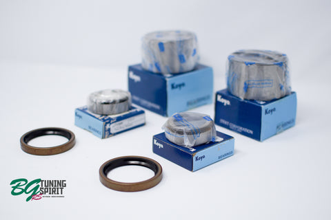 AE86 Koyo / OEM Toyota Rear Axle Bearing Kit