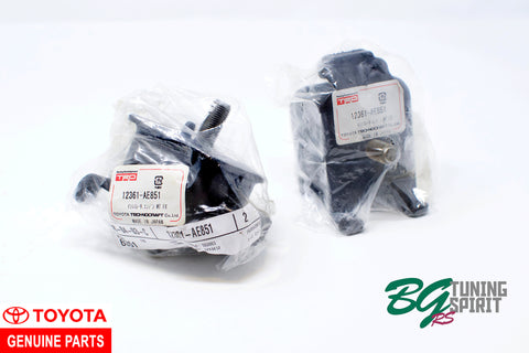 AE86 TRD Reinforced Engine Mounts