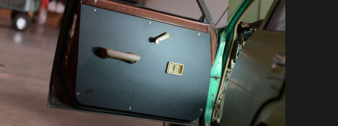 TE72, AE71, KE70 Front Door Cards for 4 Door Sedan and Wagon