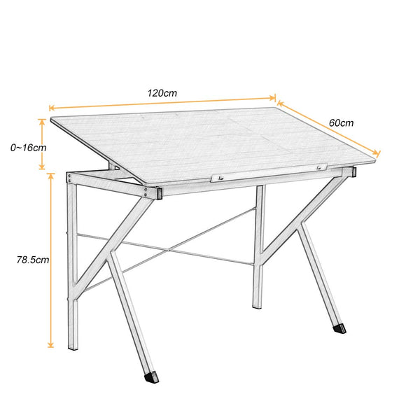 dimensions table à dessin
