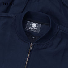 Load image into Gallery viewer, Bomber Jacket Navy