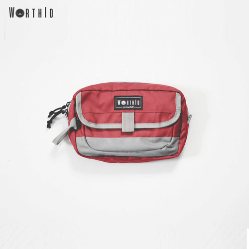 Tomer Pouch Bag Maroon