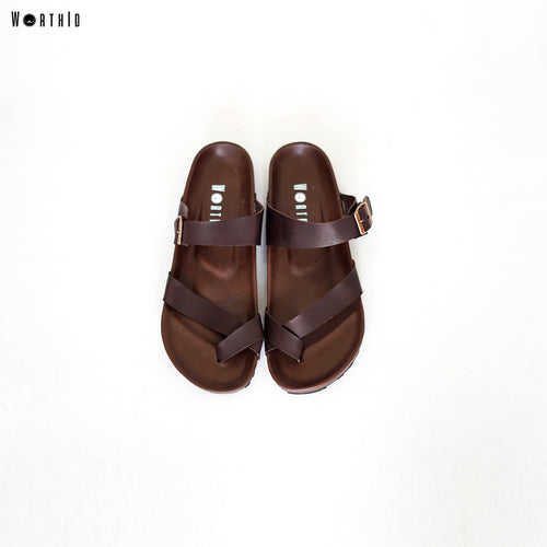 Sandal Anka Full Brown