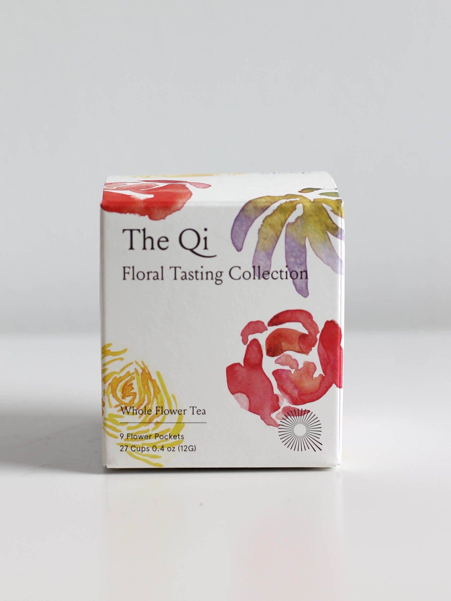 THE QI FLORAL TASTING COLLECTION TEAS