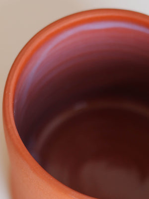 WORKADAY HANDMADE TERRA COTTA MUG