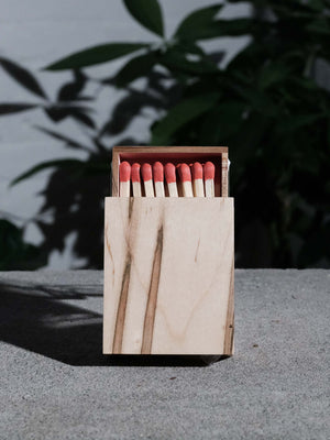 GLAZE SMALL AMBROSIA MAPLE MATCHBOX