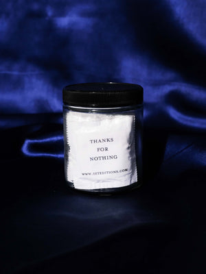 SET EDITIONS 'THANKS FOR NOTHING' CONDOMS