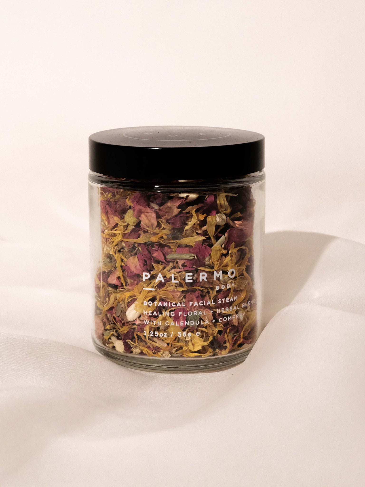 PALERMO BODY BOTANICAL FACIAL STEAM - CALENDULA + COMFREY