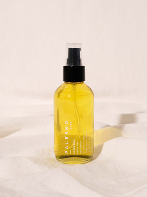 PALERMO BODY HYDRATING BODY OIL - GERANIUM + YLANG YLANG