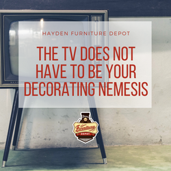 The TV Does Not Have To Be Your Decorating Nemesis