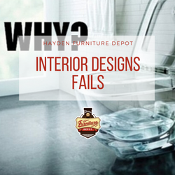 Interior designs fails that should never see the exterior.