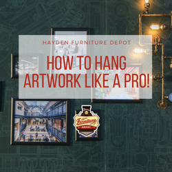 Interior Designer Hack, How to Hang Artwork Like a Pro!