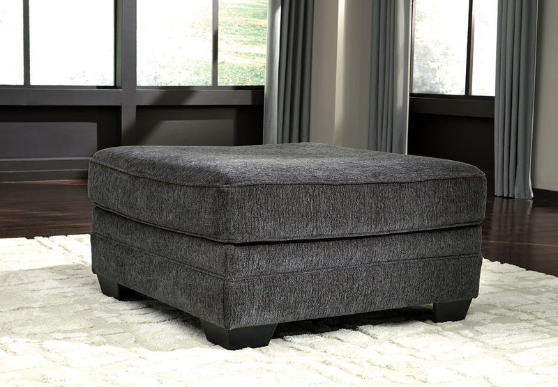 Tracling - Slate - Oversized Accent Ottoman