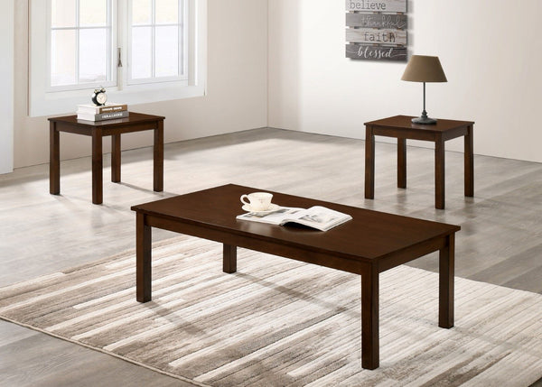 Cecily - 3 Pc. Table Set - Brown