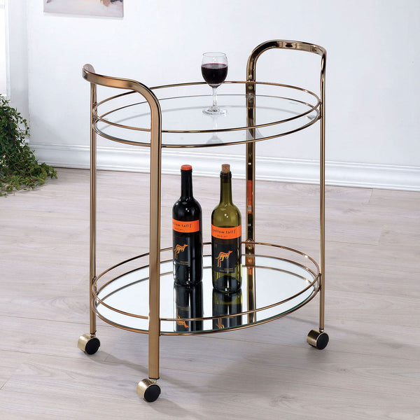 Starla - Serving Cart - Champagne