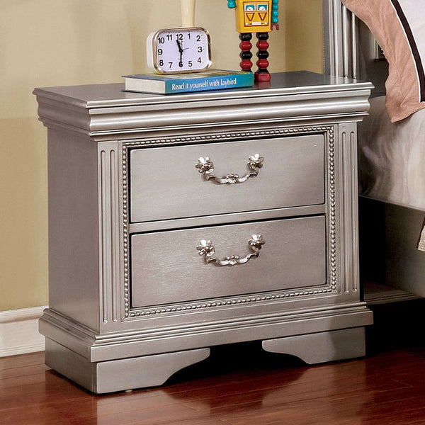 Claudia - Night Stand - Silver