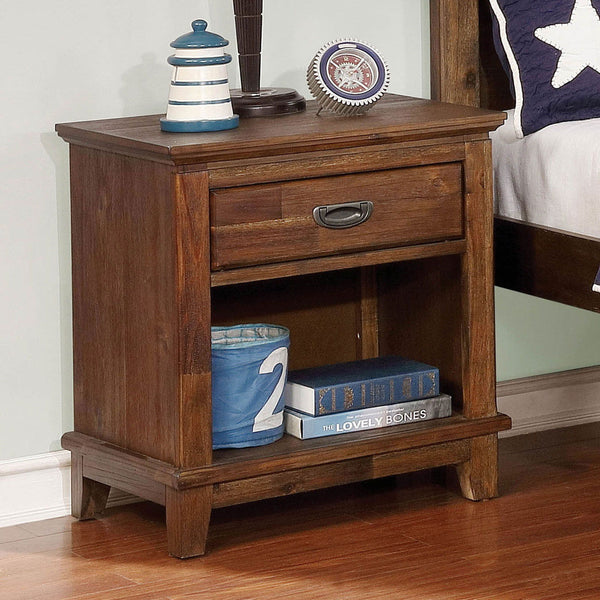 Colin - Night Stand - Dark Oak