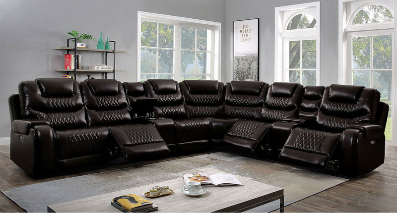 Mariah - Power Recliner - Brown