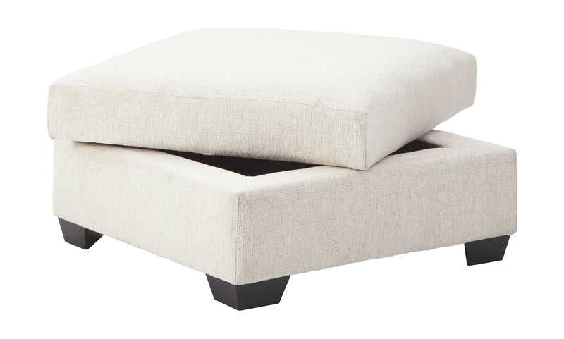 Cambri - Snow - Ottoman With Storage
