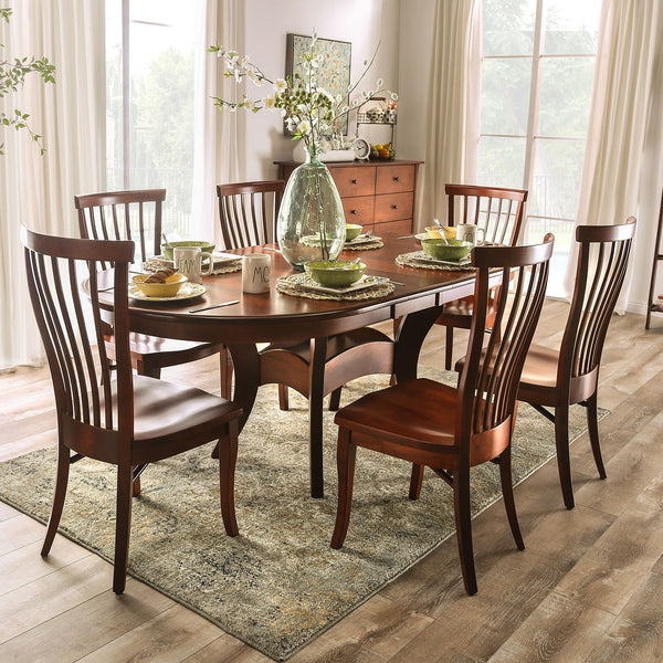 Gresham - Dining Table - Dark Cherry