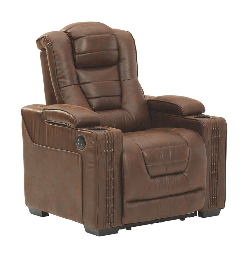 Owner's Box - Thyme - PWR Recliner/ADJ Headrest