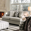 Christine - Loveseat - Light Gray