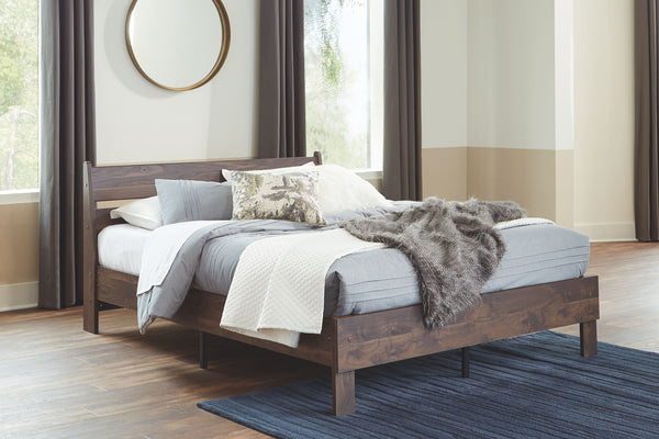 Calverson - Mocha - Full Panel Headboard