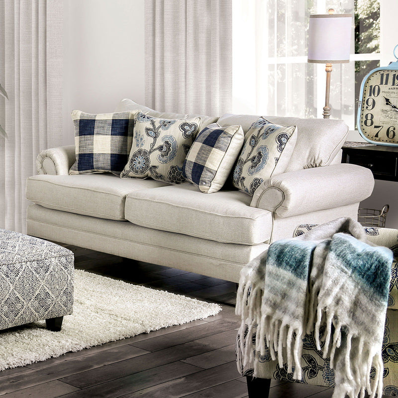 Nash - Loveseat - Ivory