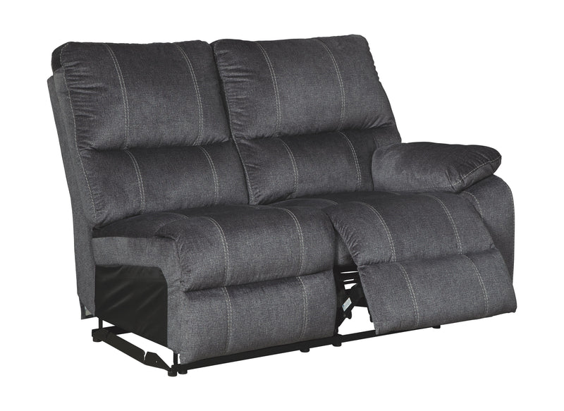 Urbino - Charcoal - RAF REC Power Loveseat