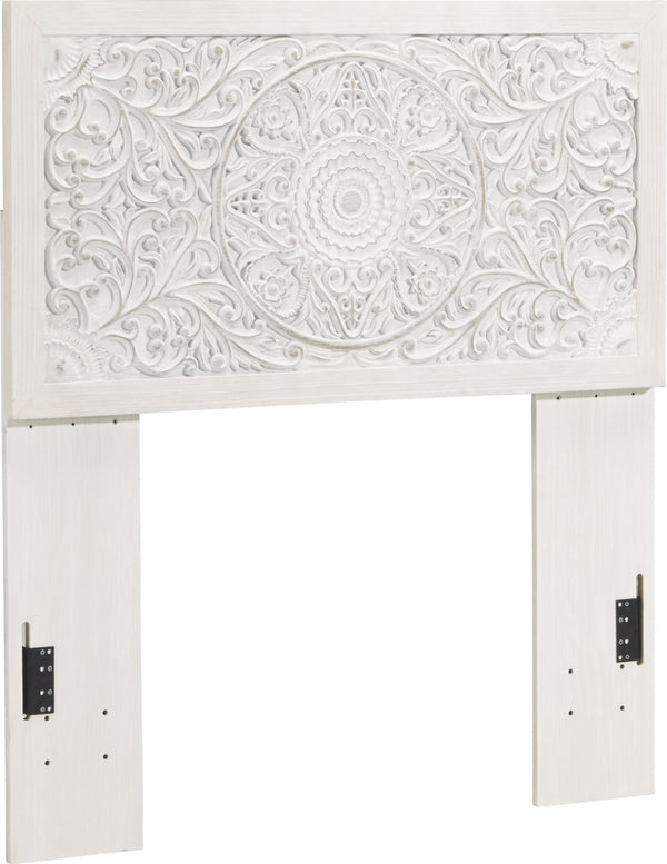 Paxberry - Whitewash - Twin Panel Headboard