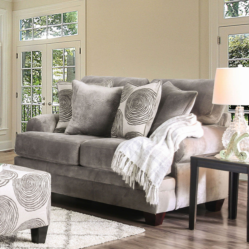 Bonaventura - Loveseat - Gray