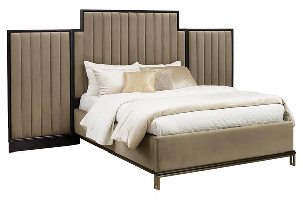 Formosa Collection - Camel - Formosa California King Upholstered Bed Camel