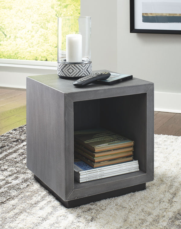 Larkburg - Gray - Accent Table
