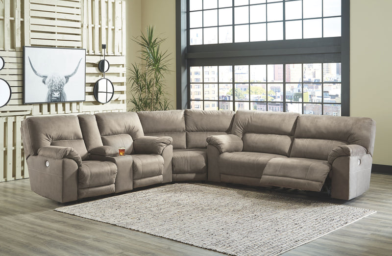 Cavalcade - Slate - Power Reclining Sectional