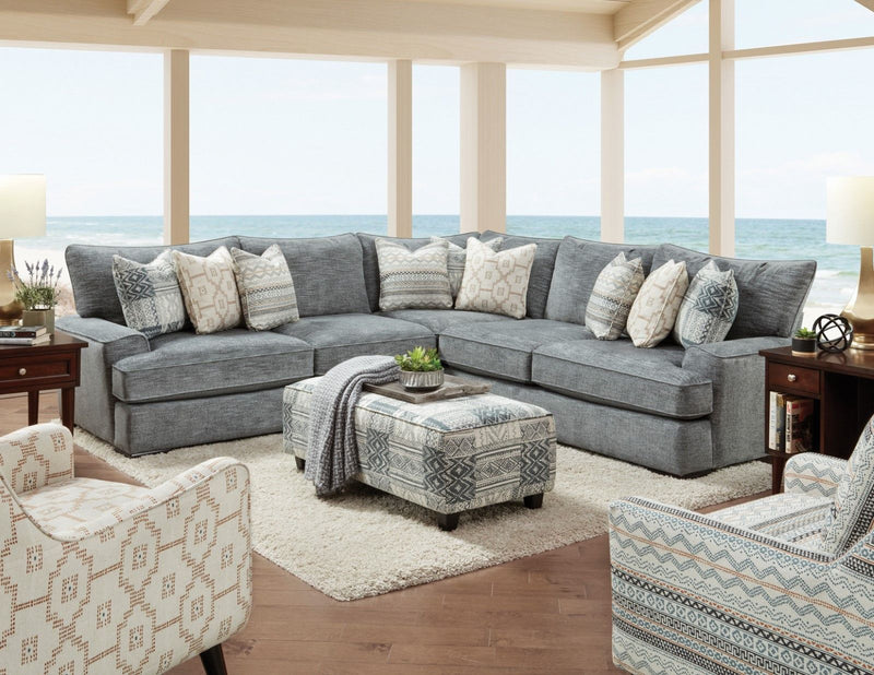 Eastleigh - Sectional - Blue