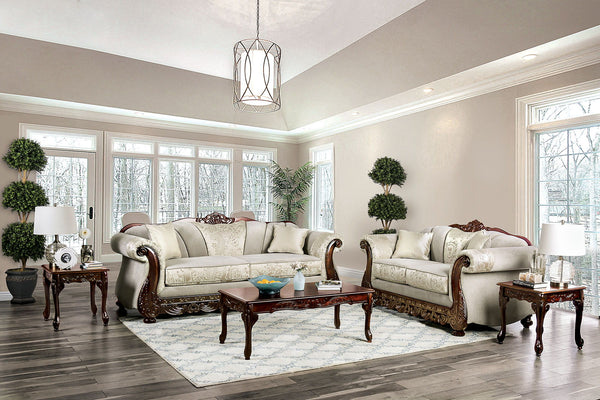 NEWDALE - Sofa + Loveseat - Ivory