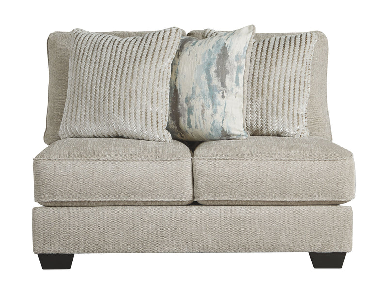 Ardsley - Pewter - Armless Loveseat