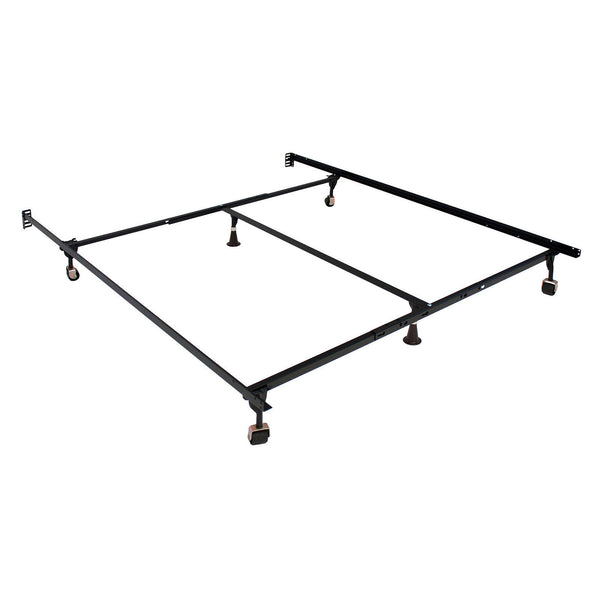Framos - Queen/King Adjustable Frame (4 Legs) - Black