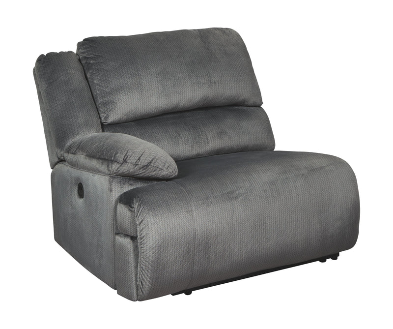 Clonmel - Charcoal - LAF Zero Wall Power Recliner