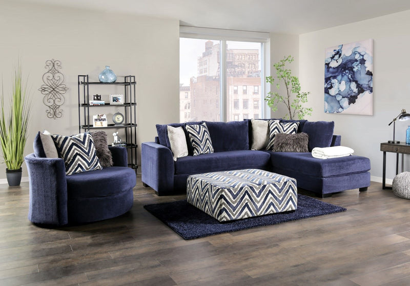Griswold - Sectional - Navy
