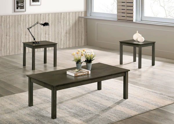 Cecily - 3 Pc. Table Set - Gray