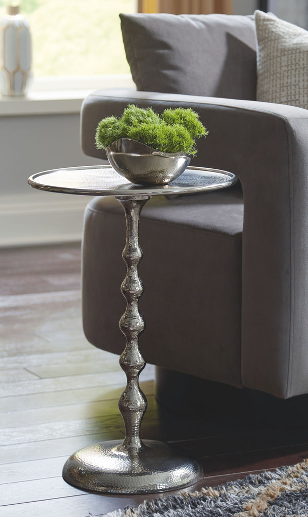 Chaseton - Silver Finish - Accent Table