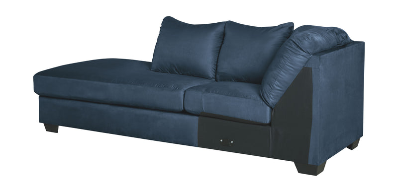 Darcy - Blue - LAF Corner Chaise